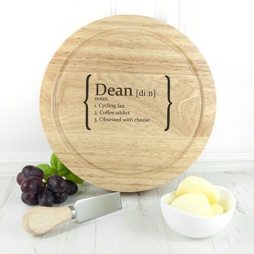 Your Definition Cheese Board Set